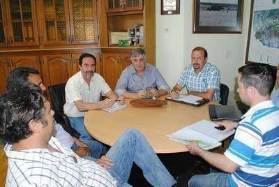 Moralejo se reunió con miembros del Colegio Veterinario y SENASA