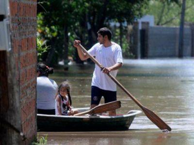 El Paraná crecerá siete días más, pero Santa Fe está