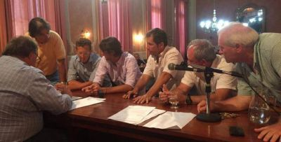 El Concejo Deliberante junto a Mayores Contribuyentes aprobaron el aumento de tasas
