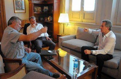 """""""Hay preocupaciones comunes, los cuatro sufrimos a ABSA"""", dijo Héctor Gay"""