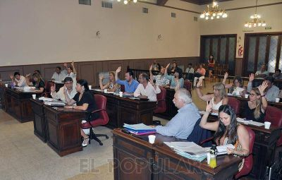 Con modificaciones y por unanimidad se aprob� el Presupuesto 2016