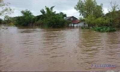Aunque desciende levemente el agua en algunas zonas se mantiene la compleja situación hídrica
