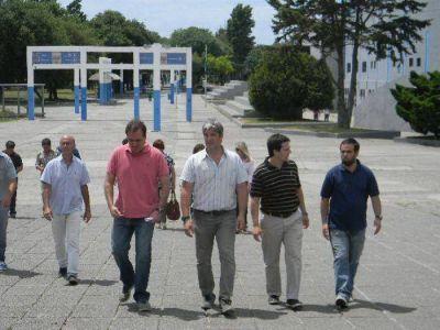 Arroyistas relevaron el estado de las instalaciones de Deportes Mar del Plata