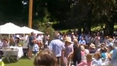 Macri habló ante los vecinos del country donde pasó sus vacaciones