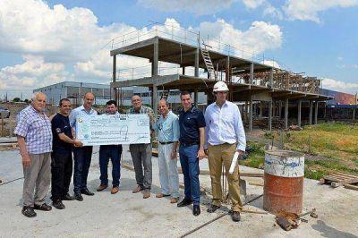 El Municipio aportó otros $2 millones para el nuevo Cuartel de Bomberos