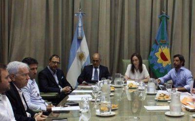 Los intendentes del PJ y Massa ayudan a Vidal a destrabar el presupuesto