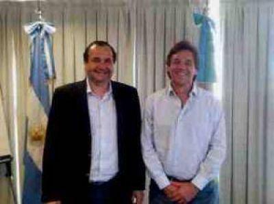 Ramiro Ortiz se reuni� con el titular del OPDS