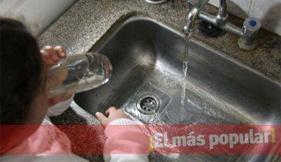 Posibles incovenientes con el agua potable en Luján y Maipú.