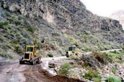 Por derrumbes está cerrado el Cañón del Atuel