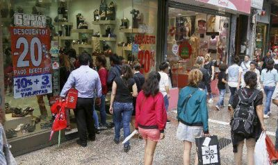 Córdoba: las ventas minoristas crecieron 1,5% durante 2015