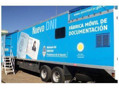 Ya se puede tramitar el DNI en puestos móviles en Mar del Plata