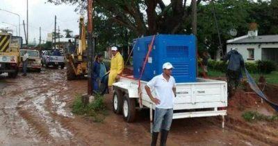 Capital: La Comuna asiste en distintos barrios a las familias afectadas por el fuerte temporal