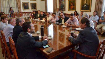 El gobernador trabaja en una agenda común con los intendentes vecinalistas
