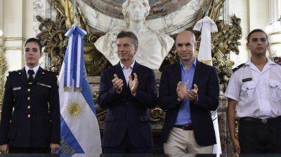 Macri y Larreta firmaron el traspaso de la Federal para