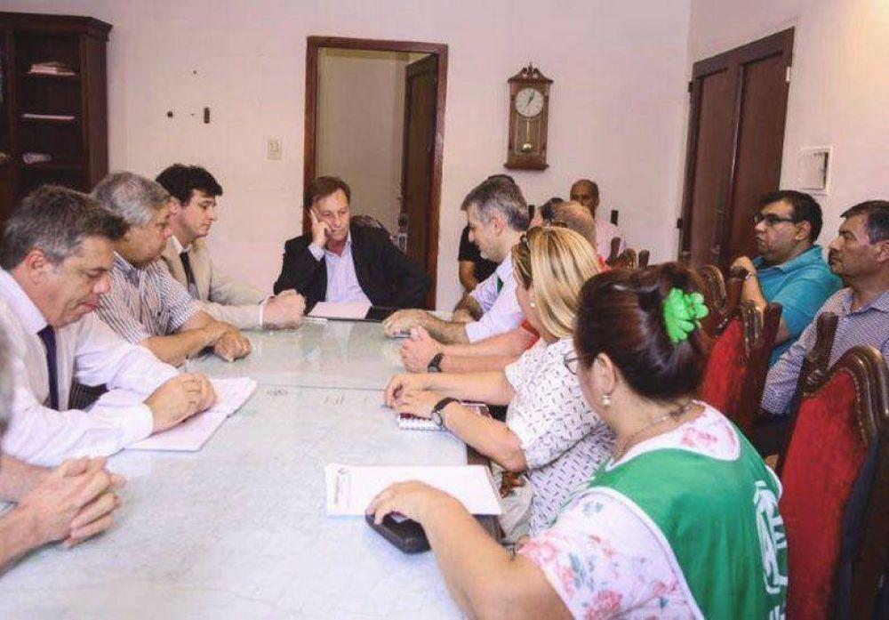 Varisco acordó con ATE revisar los contratos finalizados el 31 de diciembre