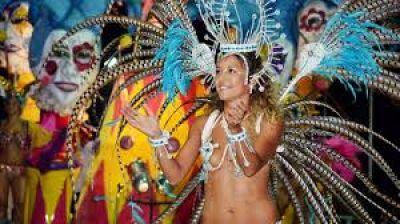 Presentan los carnavales entrerrianos en Capital