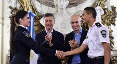 Macri firmó el traspaso de la Federal y prometió estadísticas confiables del delito