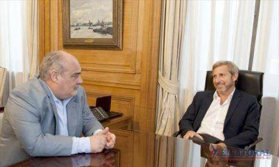De diligencia por Buenos Aires, Colombi se reunió con el ministro del Interior