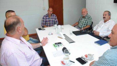 Quilmes: El Intendente se reunió con representantes de la Cámara de Comercio de Ezpeleta y AEPUQ