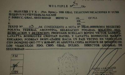 Sospechan que los Lanatta y Schillaci podrían ocultarse en Misiones
