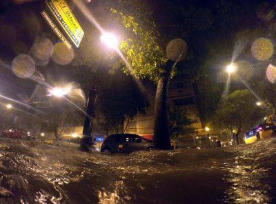 Mendoza, desbordada por las lluvias