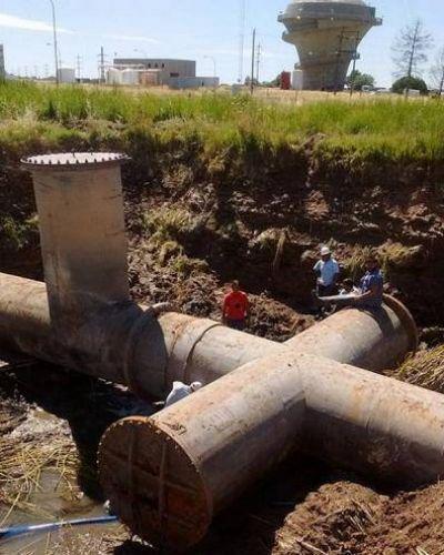 De a poco vuelve el agua a los barrios bahienses