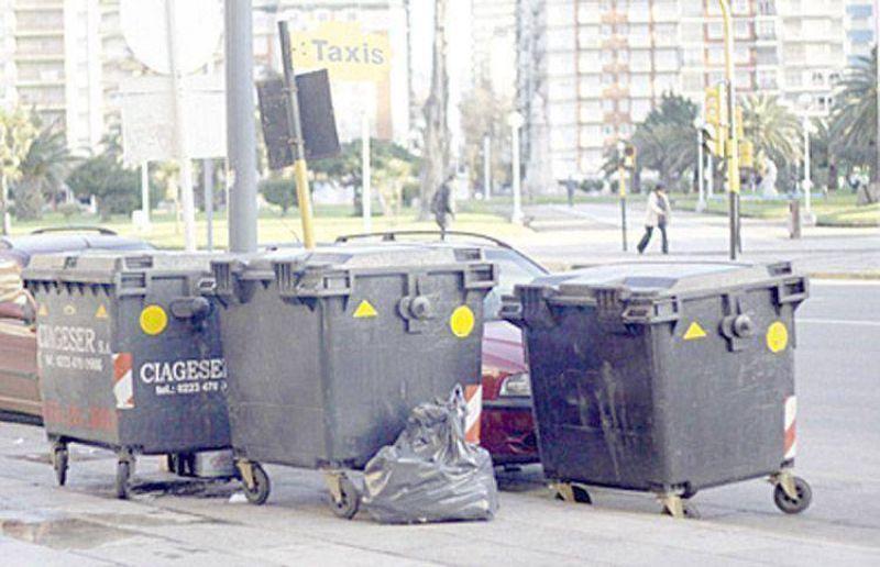 Una medida de fuerza dejó a la ciudad sin recolección de residuos