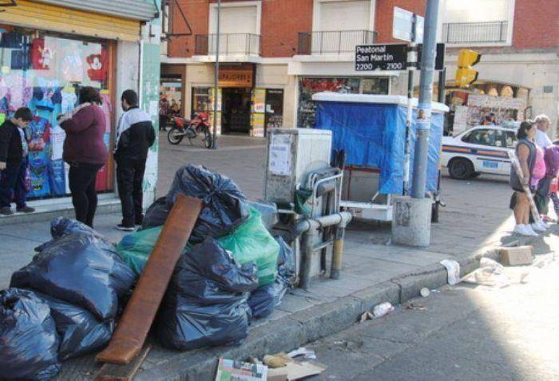 Paro por tiempo indeterminado de los trabajadores del servicio de recolección de basura