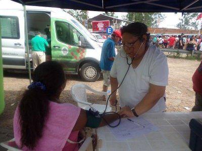 Amplio operativo sanitario en el predio del Gaucho Gil