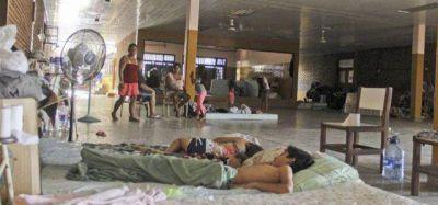 Ciudad hídrica: No hay Centro para Evacuados y siempre termina pagando (más rota) la escuela