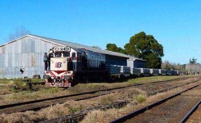 Ferrobaires quiere probar un tren de carga y demostrar que las vías están bien