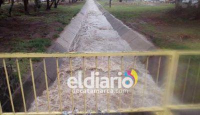 La lluvia provocó crecidas y rutas intransitables