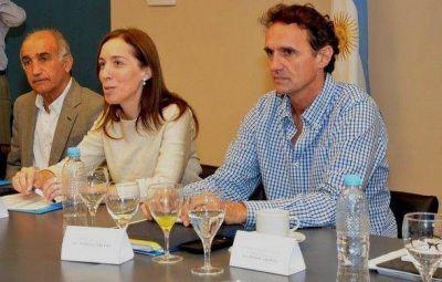 Vidal y su gabinete se reunieron con Katopodis en la municipalidad
