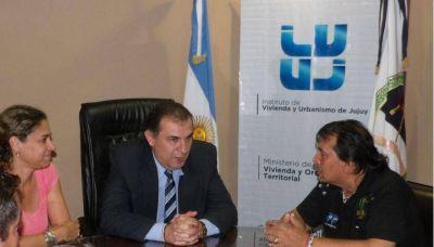 La Uocra Jujuy fue recibida por las autoridades del Ivuj