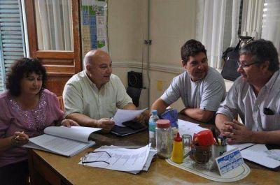 El Director de Turismo con concejales vecinalistas