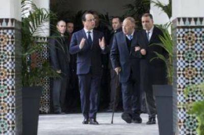 Presidente Francés visitó la gran mezquita de Paris