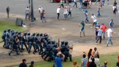 Garro compartió decisión de Ritondo de sancionar a la policía que actuó en la represión del viernes