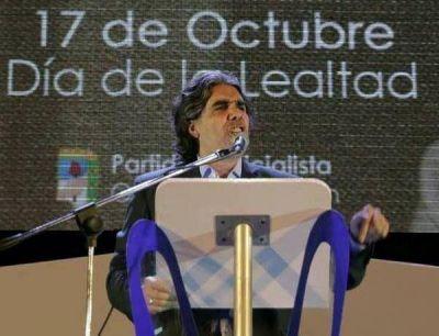 """Cervantes, sobre el rearmado del peronismo: """"Puede haber una, dos o tres líneas, pero todos dentro del partido"""""""