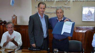Bordet le entregó un millonario ATN de Macri a Lauritto