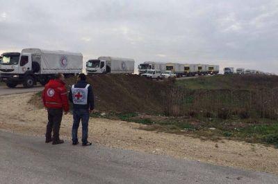 Llega la ayuda humanitaria a las ciudades sirias sumidas en la hambruna y la pobreza