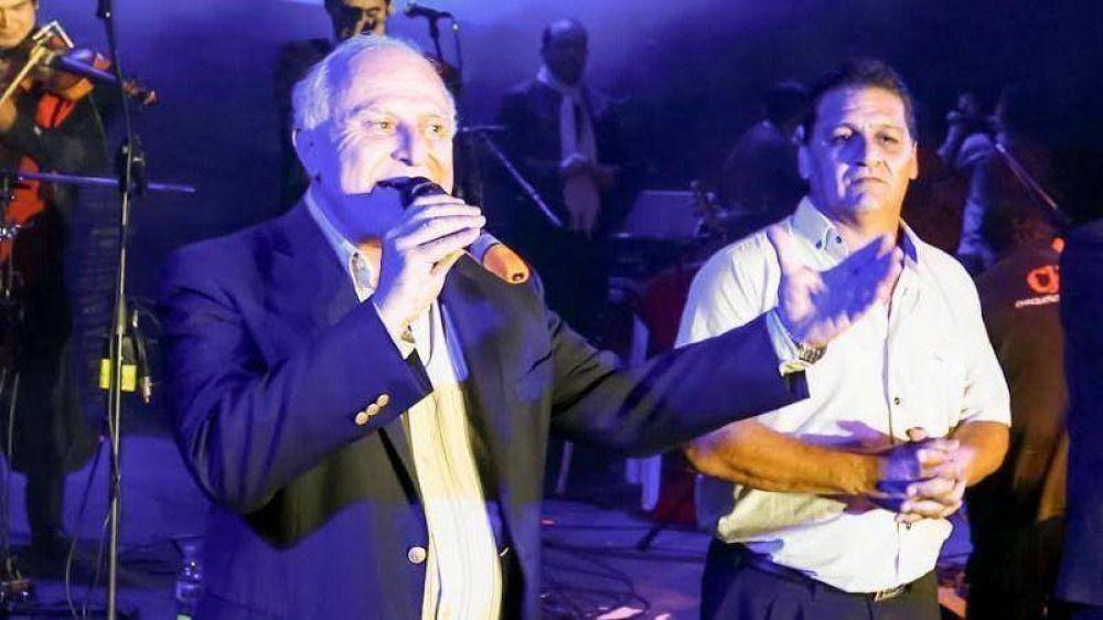 Miguel Lifschitz participó del 32° Festival del Pescador en Sauce Viejo