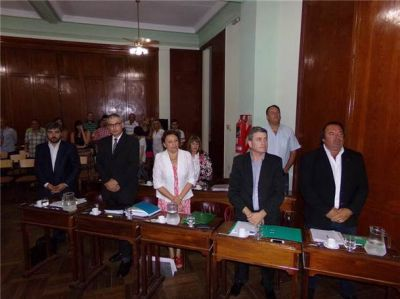 El Concejo Deliberante aprobó por mayoría el Presupuesto 2016 por $ 869 millones