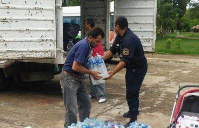 Continúa el trabajo de relevamiento de vecinos afectados por las lluvias