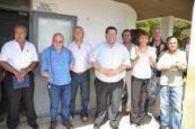 Berisso: Inauguración de Gabinete de Enfermería en el Corralón Municipal