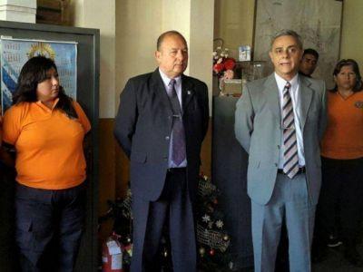 ALEJANDRO COOKE, ES EL NUEVO COORDINADOR GENERAL DE EMERGENCIAS DE LA PROVINCIA