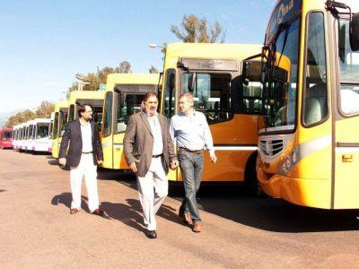 Transporte: El viernes comienzan a circular nuevas unidades