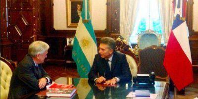 Piñera, junto a Macri:
