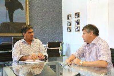 Peppo y Capitanich delinearon agenda conjunta para fortalecer el rol de Resitencia