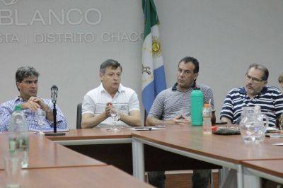 Peppo junto a Capitanich encabezaron el primer encuentro del PJ Chaqueño