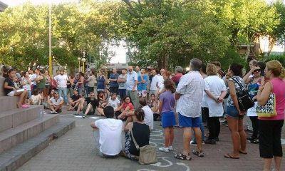 En Olavarría también se movilizaron en solidaridad con Víctor Hugo Morales
